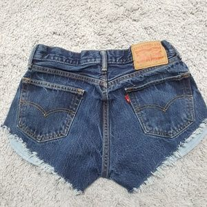 Levi's Shorts - Levi's 505 Jean Cutoffs
